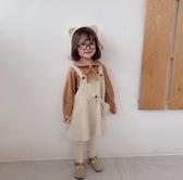 女童吊帶裙 女寶寶秋裝洋裝童裝背帶裙0女童吊帶公主裙1-3歲嬰兒裙子 小天後