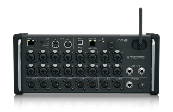 凱傑樂器 MIDAS MR18  數位混音座 MIXER 平板控制