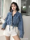 2019秋季新款韓版寬鬆工裝短外套網紅百搭學生上衣長袖牛仔夾克女
