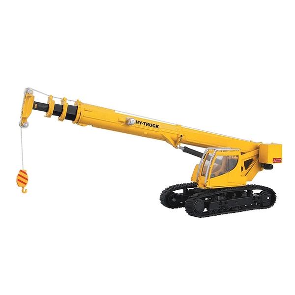 HY TRUCK華一 5012-9履帶式吊車 工程合金車模型車 移動式起重機(1:50)【楚崴玩具】