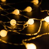 LED防水暖光燈帶『4米』1717033A 營繩燈裝飾燈聖誕燈情境燈小夜燈聖誕燈露營燈造型燈免插電電池
