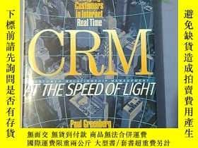 二手書博民逛書店CRM罕見at the Speed of Light 外文原版 精裝 Y14465 PAUL GREENBER