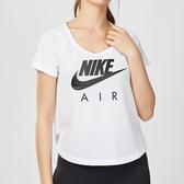 Nike Air Mesh 女子 白色 運動 休閒 排汗 短袖 T恤 BV4005-100