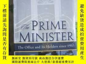 二手書博民逛書店PRIME罕見MINISTER PETER HENNESSY THE OFFICE AND ITS HOIDERS