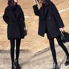 毛呢外套 毛呢大衣女中長款秋冬新款韓國學生呢子外套小個子妮子上衣潮 生活主義