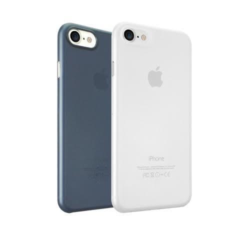 【漢博】Ozaki O!coat 0.3 Jelly 2 in 1 iPhone 7, 超薄保護殼2合1 , 霧透白/霧透藍
