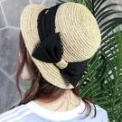 漁夫帽 hatson女帽2021夏季新款韓版時尚休閑帽草帽漁夫帽戶外旅游帽子 歐歐