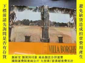 二手書博民逛書店Villa罕見Borghese (Itinerari dei m
