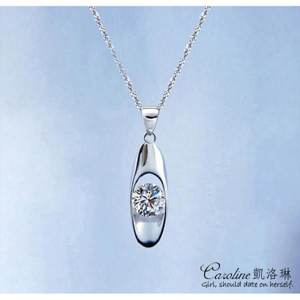 《Caroline》★【猜心】迷人氣質.甜美魅力施華洛世奇水晶時尚項鍊【附白鋼項鍊】66212