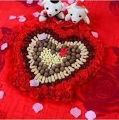 婚房布置裝飾婚床擺件壓床喜YY1270『夢幻家居』