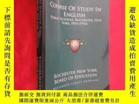 二手書博民逛書店Course罕見of Study in English: Public Schools, Rochester, N