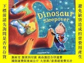 二手書博民逛書店Dinosaur罕見sleepover:恐龍過夜Y212829