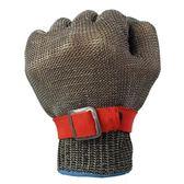 鋼絲防割手套屠宰裁剪防護手套防刺戰術殺魚金屬鐵手套