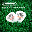 小叮噹的店-Dunlop 428R 尼龍彈片 PICK FLEX標準吉他彈片半透明