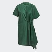 【陸壹捌折後$3080】adidas BELLISTA 連身洋裝 綠 抓皺 女 GN9464