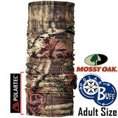 BUFF 100467_Mossy Oak授權 Adult Polar 單面保暖魔術頭巾 Polartec機能布料 東山戶外