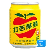 大西洋蘋果西打250MLx24【愛買】