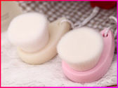 【Love Shop】超軟極細纖維洗臉刷 潔面刷/洗臉神器/洗臉機/洗面刷