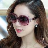 太陽鏡 新款韓版女士時尚潮墨鏡圓臉大框素顏百搭墨鏡男 14色