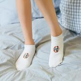 短襪全棉低幫襪黑白純色淺口運動襪【不二雜貨】
