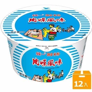 統一米粉肉燥風味紙碗-64g(12碗/箱) 【合迷雅好物超級商城】