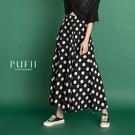 限量現貨◆PUFII-寬褲 點點長寬褲-...