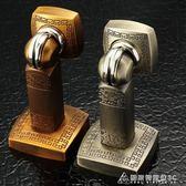 門吸強磁 地吸門阻衛生間門碰非免打孔防撞門擋中式牆吸仿古銅 酷斯特數位3c