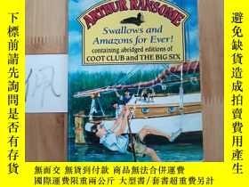 二手書博民逛書店ARTHUR罕見RANSOME Swallows and Amazons for EverY15335
