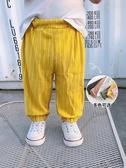 防蚊褲-兒童防蚊褲夏季薄款男寶寶長褲 提拉米蘇