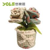 【YOLE悠樂居】嬌顏-花藝造型香炭包(2入) #1035056