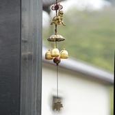 麒麟吉祥物金屬風鈴掛飾銅鈴鐺掛吊飾