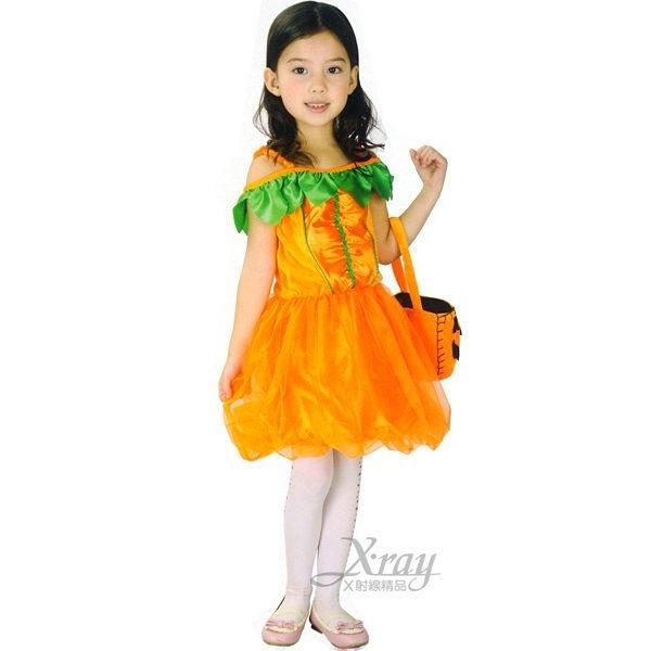 夢幻南瓜公主,萬聖節服裝/派對用品/尾牙表演/角色扮演,節慶王【W148012】