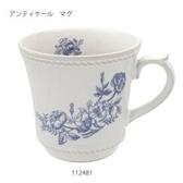 《齊洛瓦鄉村風雜貨》日本zakka雜貨 izawa日本製 陶製懷舊玫瑰馬克杯 復古咖啡杯 茶杯