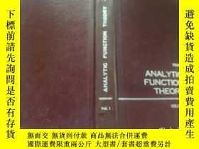 二手書博民逛書店Analytic罕見Function Theory. Volum