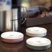 LED充電觸摸感應調光小夜燈磁鐵吸附宿舍神器臥室床頭壁燈/強安 好再來小屋 NMS