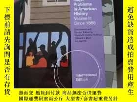 二手書博民逛書店Major罕見problems in american history, vol. llY416307 Eli