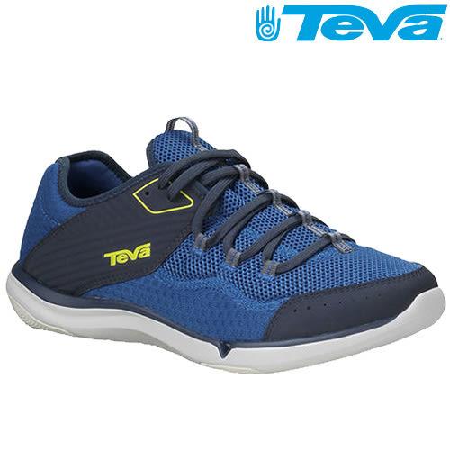 TEVA 超輕量舒適都會型水陸兩棲便鞋Refugio - 藍