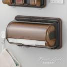 面紙盒/面紙套 日本進口inomata廚房用紙架捲紙收納架冰箱紙巾架磁鐵吸盤捲紙盒 NMS