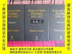 二手書博民逛書店【罕見】2000年原版《Collected Papers》 1-
