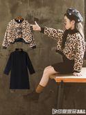 加絨衛衣兩件套裝裙子中大女童冬裝兒童潮童裝洋氣秋時尚 印象家品旗艦店