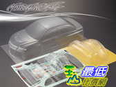 [9玉山最低比價網] 1/10 競速漂移改裝車殼 高品質 PC透明碳纖車殼 三菱 EVO 9 195mm (透明車殼)