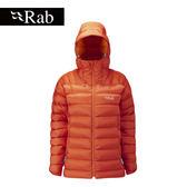 [抗水羽絨] 英國 RAB Electron Jacket 羽絨外套 女款 錦鯉紅 #QDN54