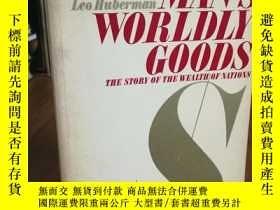 二手書博民逛書店MAN S罕見WORLDLY GOODSY12800 LEO H