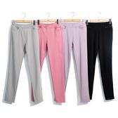 單一優惠價[H2O]棉質彈性舒適合身內搭褲 - 黑/灰/粉/淺紫色 #0688012