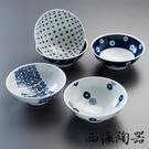 【西海陶器】波佐見燒 藍丸紋五件式輕量湯碗 鈴木太太