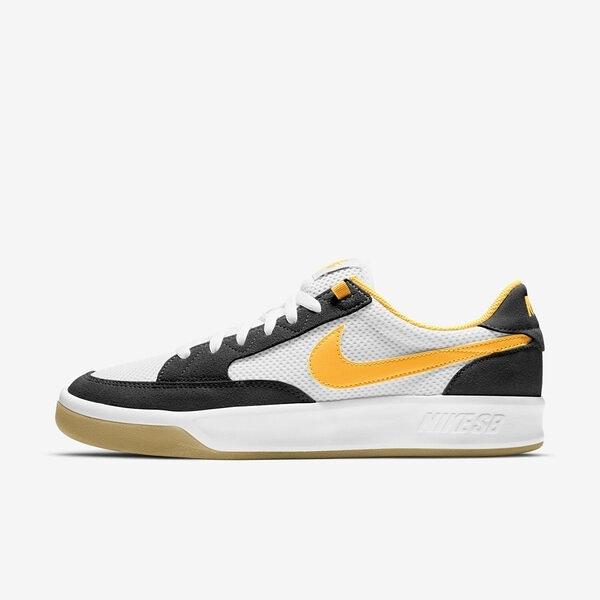 Nike Sb Adversary [CJ0887-002] 男鞋 滑板鞋 經典 舒適 透氣 穿搭 白 黃