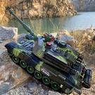 遙控玩具 超大遙控坦克可發射親子對戰履帶式模型兒童充電動男孩越野車玩具1 洛小仙女鞋YJT