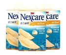 3M Nexcare_ 活力繃帶_彈性舒適  15片/盒 X3盒