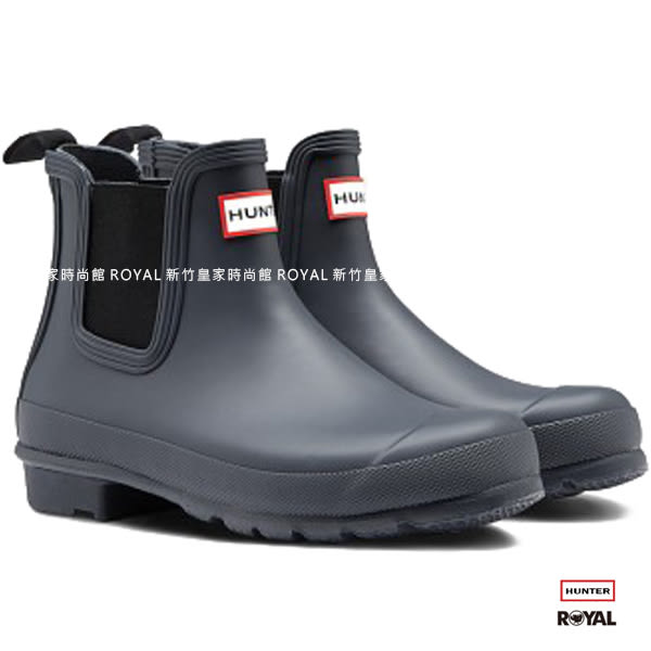 Hunter Boots 新竹皇家 Original Chelsea 深藍 霧面 踝靴 女款 NO.I7762