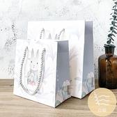 5/10個裝 森系簡約禮品袋禮物盒紙袋子手提袋生日節日情人伴手禮袋包裝【白嶼家居】